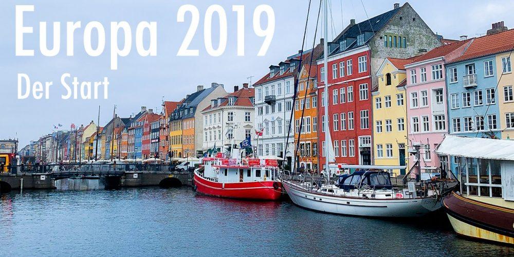 Europa 2019 – Der Start