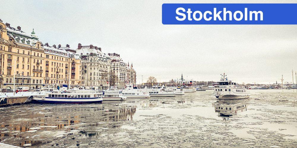 Stockholm und rüber nach Finnland